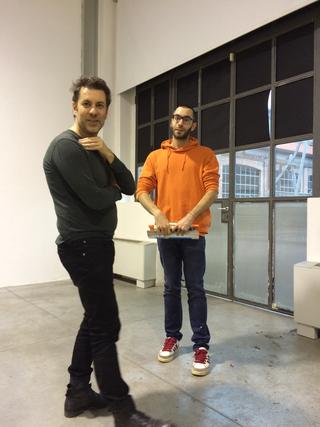 People | Artists, Luigi Coppola e Riccardo Giacconi, 2016