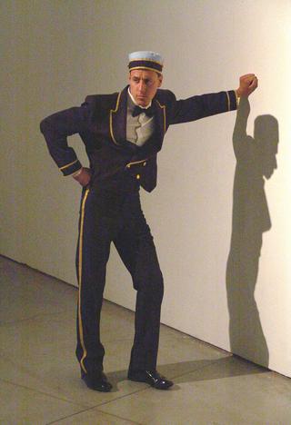 Pietro Roccasalva, O.H. Situazione d'opera in quattro stanze, Veduta della performance.