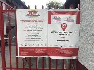 """Intercultura - Capitolo 21 Il marchio, Transizione tra """"Cascina Casottello"""" e C.I.Q. - Centro Internazionale di Quartiere"""