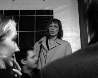 People | Family, Angela Vettese con Vanessa Beecroft fotografate da Mario Gorni, 1993