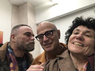 People | Family, Francesco Pantaleone, Marco Cingolani e Patrizia, VIR Viafarini-In-Residence,febbraio 2020