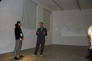 Video Invitational - Video in tutti i sensi: Tobias Collier, Incontro con l'artista, Milovan Farronato e Tobias Collier