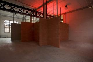 Liliana Moro, This Is the End, Liliana Moro, This Is the End, 2008, installazione sonora e luminosa, dimensioni variabili Foto di Roberto Marossi.