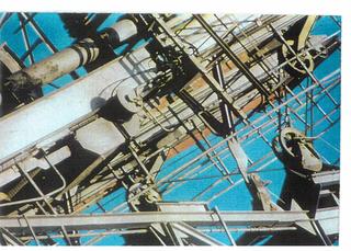 Lorenza Lucchi Basili, Michele Morosinotto, Gregorio Paonessa, Synthex, Quattro teorie sul paesaggio, Lorenza Lucchi Basili Spazio diciassette - Le Havre, 5628 km con Letizia e Guido, 1998 fotografia su alluminio 100 x 150 cm