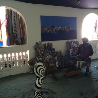 Intercultura - Capitolo 12 Ricordi di viaggio, Interno di Espace Medina, Dakar