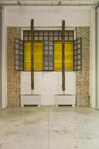 Alberto Scodro, Spannung, Veduta dell'installazione. Foto di Davide Tremolada