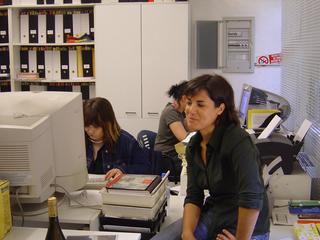 Arrivederci e Grazie, Le curatrici occupano i computer di Viafarini.