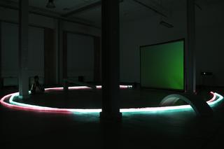 Cinemino, Veduta dell'installazione. Foto di Andrea Dal Molin