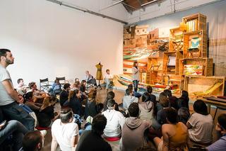 Intercultura - Capitolo 5 Attività attività attività, Nio Far, progetto in occasione del Salone del Mobile negli spazi di Mascherenere alla Fabbrica del Vapore, 2014