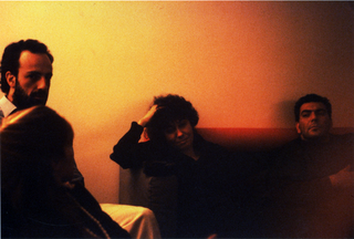 Massimo Kaufmann, Cella #7, Marcello Gianoni e Massimo Kaufmann durante le riunioni in DImos, 1991