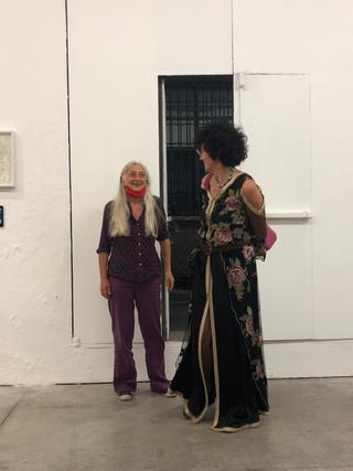 People | Family, Ginevra Quadro Curzio e Patrizia Brusarosco a VIR Viafarini-In-Residence,settembre 2020