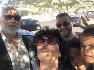 People | Family, Giovanni Sabatini, Giulio Verago, Vanessa e Pietro Tafur con Patrizia, 2019