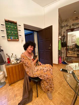 People | Family, Patrizia alla residenza VIR ViaFarini-In-Residence, 2020