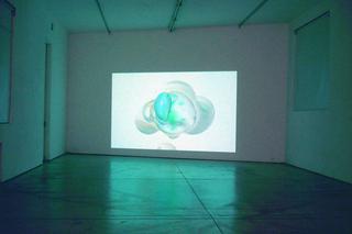 Video Invitational #3 - Video in tutti i sensi, Michael Kutschbach, uschi & irvin make merry masquerades, 2005  Alla base delle animazioni digitali di Michael Kutschback sono paesaggi impossibili, ibridazioni di forme che si autogenerano e moltiplicano. Di sapore kitsch e fascinazione cromatica queste forme, prevalentemente sferiche, sembrano consumarsi in una rotazione senza destino, in una danza, in un corteggiamento che le conduce alla dissoluzione. Si tratta di una nuova seduttiva cosmologia digitale animata da repentine accelerazioni, momenti in slow motion e andamenti elicoidali.