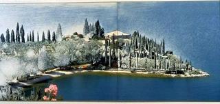 Stefano Arienti, Senza titolo, 1995. (Untitled) Partially erased poster 98 x 274 cm