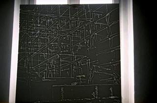 Stefano Arienti, Senza titolo, 1992 (Polystyrene) 17 elementi da 100 x 100 cm ciascuno