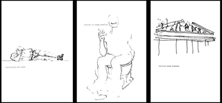 Stefano Arienti, Prelista Roma, 1997 (Pre-list Rome) Project dimensioni variabili Pubblicazione sulla rivista Opening