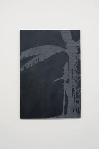 Stefano Arienti, Banano #1, 2010 100 x 69 x 2 cm Courtesy:Galleria Massimo Minini, Brescia
