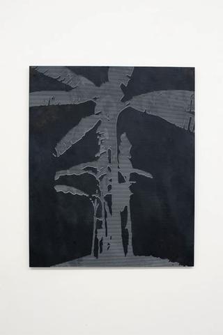 Stefano Arienti, Banano #2, 2010 100 x 82,5 x 2 cm Courtesy:Galleria Massimo Minini, Brescia