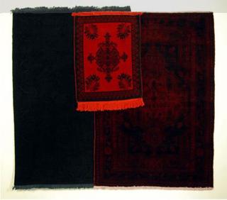 Stefano Arienti, Tre tappeti tinti, 2006-2009 dimensione ambiente Courtesy:Galleria Massimo Minini, Brescia