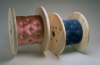 Maurizio Cattelan, Rulò, 1989 55 x 80 x 80 cm