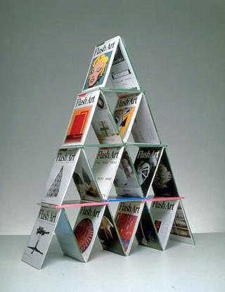 Maurizio Cattelan, Strategie, 1990 (Strategies) Magazines dimensioni variabili
