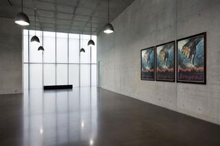 Maurizio Cattelan, Poster, 2008 Print Kunsthaus Bregenz, Bregenz, Austria Foto di Markus Tretter