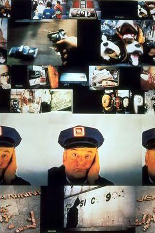 Maurizio Cattelan, Monday, nothing, 1995. Poster