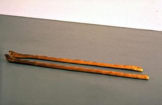 Maurizio Cattelan, 13-11-1998: My last kiss, 1998 Bread Galerie Emmanuel Perrotin Galerie, Paris