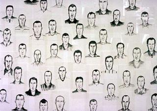 Maurizio Cattelan, Super-Noi, 1993 (Super-Us) Acetates 50 pezzi da 29,7 x 21 cm - Documentario 2 , Spazio Opos, Milano