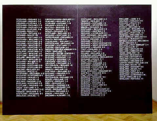 Maurizio Cattelan, Senza titolo, 1999 (Untitled) Black granite, structure in MDF and steel 220 x 300 x 60 cm Courtesy:Anthony d'Offay Gallery, London