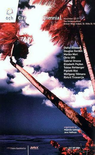 Maurizio Cattelan, VI Biennale dei Caraibi. Blown Away, 1999 (VI Caribbean Biennial. Blown Away) The British Lemon, British West Indies, St. Kitts