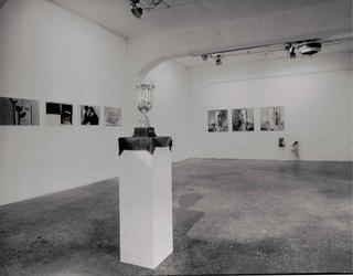 Showroom 95 Mostre laboratorio dall'Archivio, Cambio d'indirizzo, veduta dell'allestimento