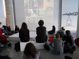 """Education Lab - formazione attraverso l'arte - I edizione, Laboratorio """"Parole al vento"""", a cura di Fondazione Sandretto Re Rebaudengo"""