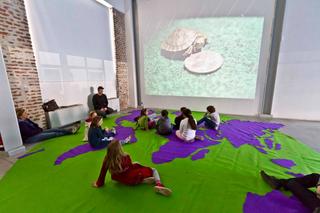 """Education Lab - formazione attraverso l'arte - I edizione, Laboratorio """"la biodiversità clandestina"""" di iPAC con Ettore Favini. Foto di Luca Vittorio Toffolon"""