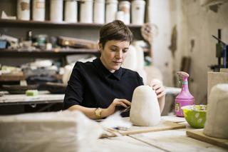 Emma Hart a Viafarini, Emma Hart al Museo Carlo Zauli di Faenza, 2016 Foto di Andrea Piffari