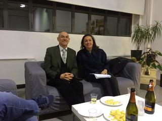People | Family, Gli avvocati Paolo Bergman e Alessandra Donati discutono i destini di Careof e Viafarini, 2016