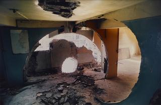 Gordon Matta Clark, Video screening, Conical Intersect, 1975