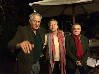 Grand Tour d'Italie, Dannie Elliott (direttore ISCP), Els van Odijk (direttrice Rijksakademie), Jean Baptiste Joly (direttore Akademie Schloss Solitude)