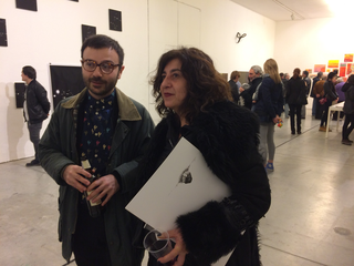 People | Family, Alessandra Galletta con Francesco Maluta all'Open Studio di VIR Viafarini-In-Residence, gennaio 2016