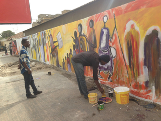 Intercultura - Capitolo 12 Ricordi di viaggio, Il progetto di Espace Medina - Moussa Traorè per le strade di Dakar, dicembre 2017