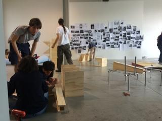 Laetitia Badaut Haussmann, On Domesticity, Workshop di progettazione
