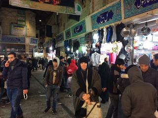 Res Artis Meeting Tehran, Patrizia Brusarosco al mercato a Tehran