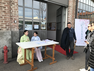 """Coworking Lotto 15, Liujie Ye cura """"Club di Poesia Primavera del 2019"""""""