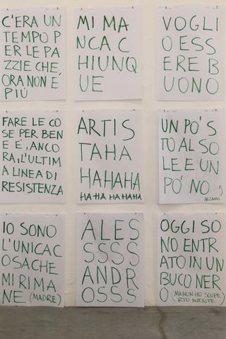 Viafarini Open Studio, Alessandro Calabrese