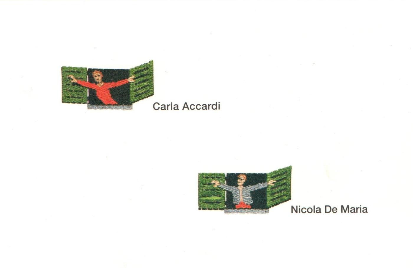 Carla Accardi, Nicola De Maria, Finestre