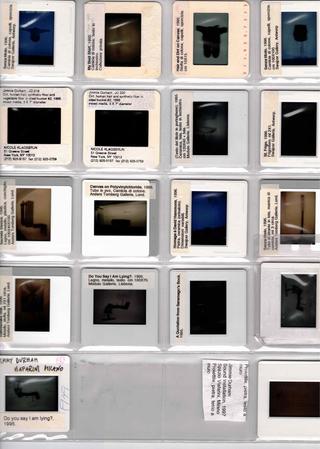 Jimmie Durham, Il portfolio inviato da Jimmie Durham all'Archivio, anni Novanta