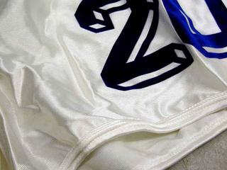 Tobias Rehberger, Luci diffuse, Paolo Rossi, particolare dei pantaloncini con il numero 20, mondiali 1982