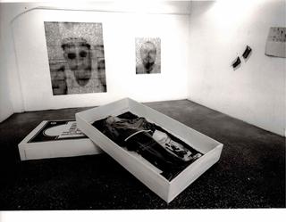 Showroom 95 Mostre laboratorio dall'Archivio, LAB.10.1, veduta del'allestimento