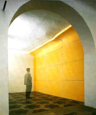 Liliana Moro, Paradiso artificiale, 1990 (Artificial paradise) Foam rubber Spazio di Via Lazzaro Palazzi, Milano Foto:Roberto Marossi